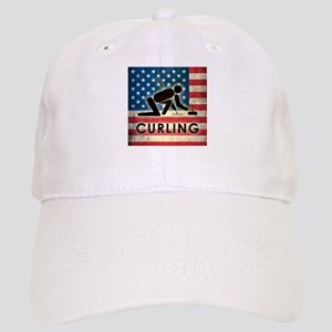 Grunge USA Curling Cap