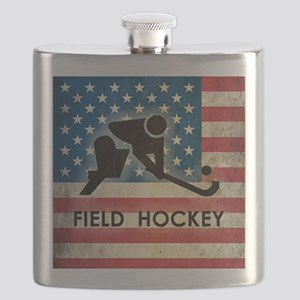 Grunge USA Field Hockey Flask