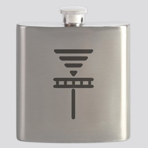 new smooth basket white4-07 Flask