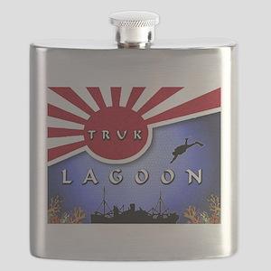 Truck Lagoon Wreck ... Flask