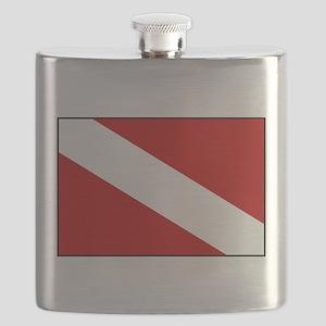 kickin back cozumel2 Flask