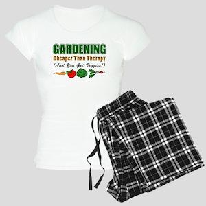 Gardening Cheaper Than Therapy Women's Light Pajam