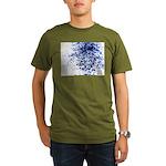 Border breach Organic Men's T-Shirt (dark)