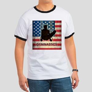 Grunge USA Gymnastics Ringer T