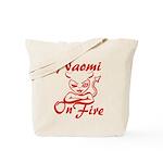 Naomi On Fire Tote Bag
