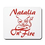 Natalia On Fire Mousepad