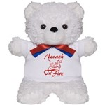 Nevaeh On Fire Teddy Bear