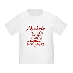 Nichole On Fire T