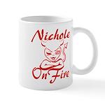 Nichole On Fire Mug
