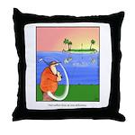 GOLF 013 Throw Pillow