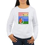 GOLF 013 Women's Long Sleeve T-Shirt