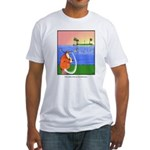 GOLF 013 Fitted T-Shirt