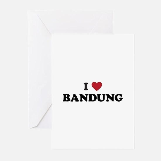 I Love Bandung Greeting Cards (Pk of 20)