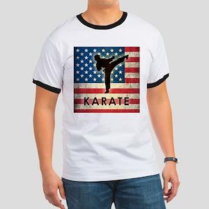 Grunge USA Karate Ringer T