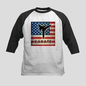 Grunge USA Karate Kids Baseball Jersey