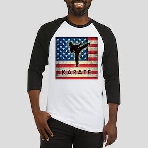 Grunge USA Karate Baseball Jersey