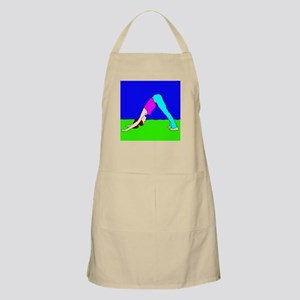 Downward Dog (Adho Mukha Svanasana) Apron