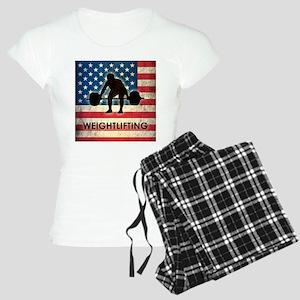 Grunge USA Weightlifting Women's Light Pajamas