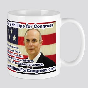 Terry Phillips for Congress Mug