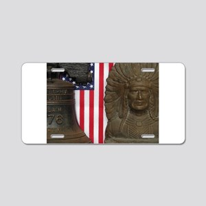 LET FREEDOM RING III™ Aluminum License Plate