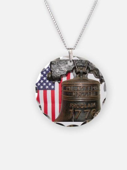 LET FREEDOM RING V™ Necklace
