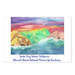 Santa Cruz Island cinmls product Postcards (Pa