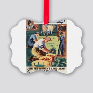 LL381 Picture Ornament