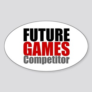 Future Games Competitor Sticker (Oval)