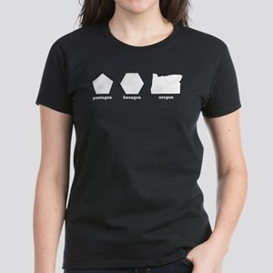 Polygon Oregon Women's Dark T-Shirt