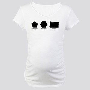 Polygon Oregon Maternity T-Shirt