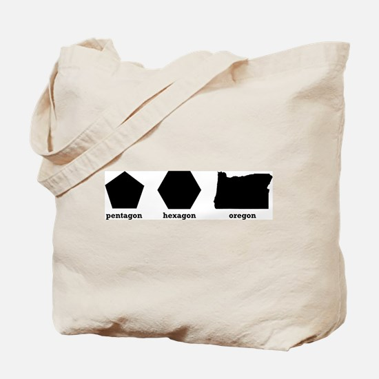 Polygon Oregon Tote Bag