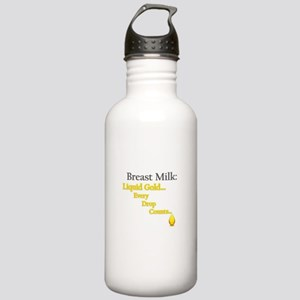 Liquid Gold Stainless Water Bottle 1.0L