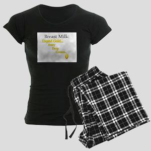 Liquid Gold Women's Dark Pajamas