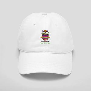 Customizable Whimsical Owl Cap
