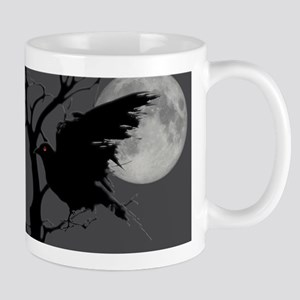 Nighttime Rave in Branch with Full Moon Mug