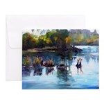 American River Afternoon Notecards (Set of 10)