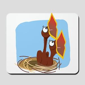 Hungry Birdies Mousepad