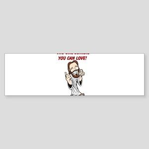 ZOMBIE CHRIST Sticker (Bumper)