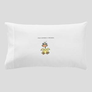 SPRING CHICKEN Pillow Case