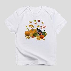 Black Cat Pumpkins Infant T-Shirt