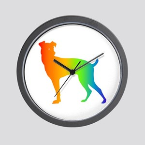 Japanese Terrier Wall Clock