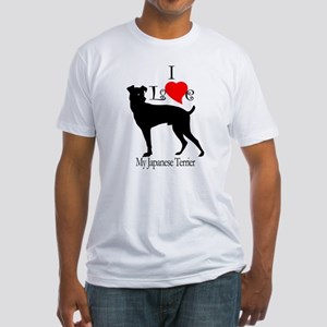 Japanese Terrier Fitted T-Shirt