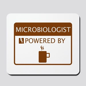 Microbiologist Powered by Coffee Mousepad