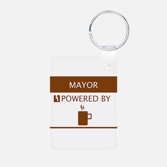 Mayor Powered by Coffee Keychains