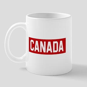 Canada Stencil Mug