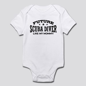 Future Scuba Diver Like My Mommy Infant Bodysuit