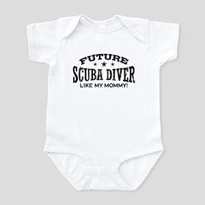 Future Scuba Diver Like My Mommy Infant Bodysuit