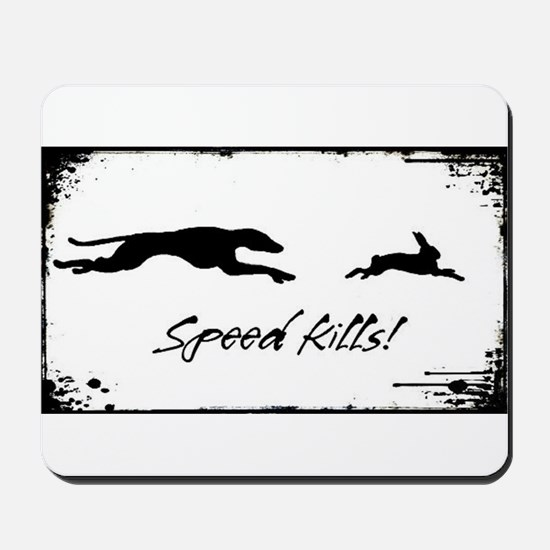 Speed Kills Mousepad
