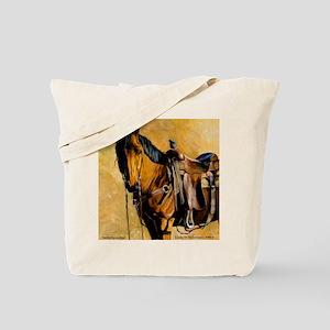 Buckskin Quarter Horse Tote Bag