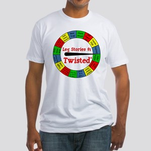 Twisted Leg Stories Fitted T-Shirt